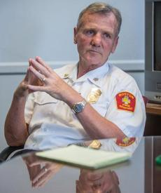 John Hasson is one of the Boston deputy fire chiefs who publicly criticized former chief Steve Abraira. He is now acting fire chief until a permanent replacement is selected.