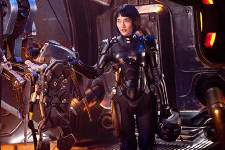 "THIS HANDOUT FILE HAS RESTRICTIONS!!! RINKO KIKUCHI as Mako Mori in ""PACIFIC RIM"" a film directed by Guillermo Del Toro. NYTCREDIT: Kerry Hayes/Warner Brothers Pictures 01summerfilms"