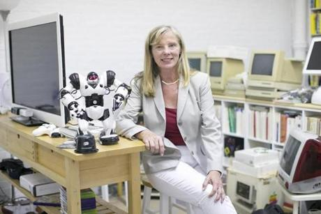 Mary Hopper said she was inspired by the Living Computer Museum in Seattle, which is backed by Microsoft cofounder Paul Allen.