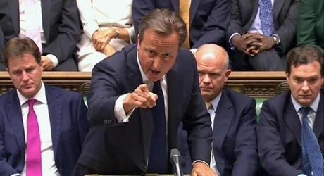 British Prime Minister David Cameron failed to win support for intervention in Syria.
