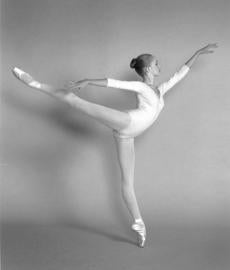 Flack at 12 when she was a member of the Massachusetts Youth Ballet.