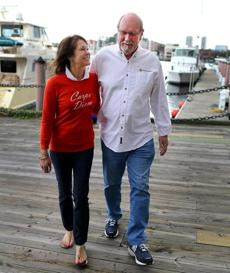 John and Karen Odom will head back to California on Friday.