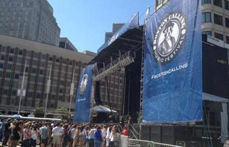The two-day Boston Calling Music Festival returned to City Hall Plaza after May's inaugural event.