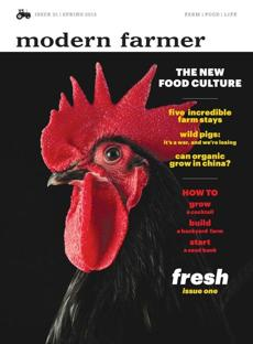 "The new magazine ""Modern Farmer."""