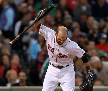 The bad breaks returned on Sept. 17, however, when the Rays beat Pedroia and the Red Sox 4-3.