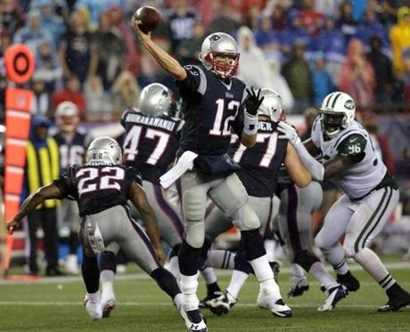 The Patriots managed to hold on and take a 13-10 win over the Jets.