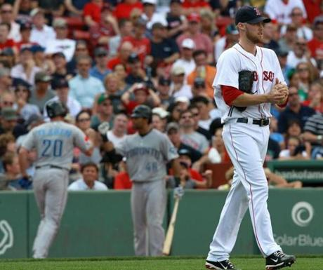 The Red Sox could not follow up with a win on Sept. 14, however. Bard again imploded when he blew a 4-2 lead by allowing three runs in the eighth inning.