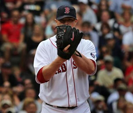 Red Sox starting pitcher Jon Lester pitched eight innings in a 5-1 win against the New York Yankees on Sept. 14.