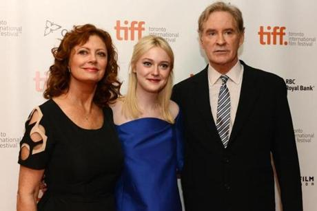 """The Last of Robin Hood"" stars Susan Sarandon, Dakota Fanning, and Kevin Kline."