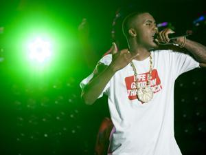 Nas at a hip-hop festival in 2012.