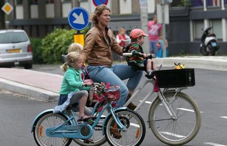 Universal in-school bicycle education guarantees that every Dutch child can comfortably ride in traffic.