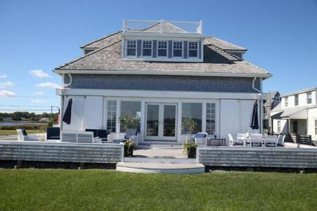 The home's ocean views stretch from Minot Light to Scituate Light.