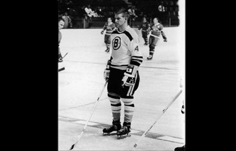 In 1966, at 18, he was Boston's most hotly anticipated rookie. Yet he seemed unfazed by the hype and took pains to project himself as just another Bruin.
