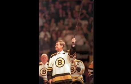 Orr attended the Boston Garden's closing ceremony in 1995.