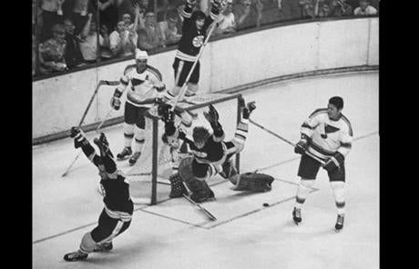 Orr's most legendary goal, May 10, 1970, gave Boston its first Stanley Cup in 29 years.