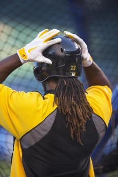 Pirates center fielder and MVP candidate Andrew McCutchen at Wrigley Field.