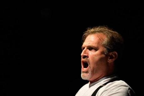 "Marc Kudisch in ""Baritones Unbound"" champions what he views as the disappearing baritone voice in popular music."