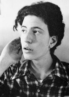 Bill de Blasio, as a junior, in Cambridge Rindge and Latin's 1978 yearbook.