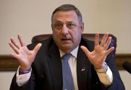 Maine Governor Paul LePage vetoed his state's efforts to expand Medicaid to an estimated 70,000 residents, saying the change would prove too expensive.