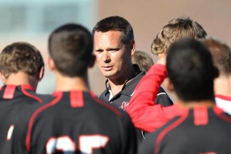 Kyle Wood is in his first year as head coach at North Andover.