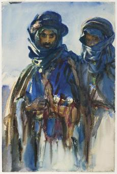 "From his trips to the Middle East, ""Bedouins"" (1905-06)."