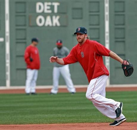 The Red Sox will play the Detroit Tigers, who beat the Oakland A's, 3-0, late Thursday night.