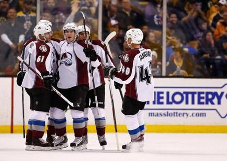Ryan O'Reilly netted a first-period goal for Colorado that ended up being the game-winner.