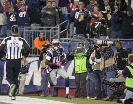 Kenbrell Thompkins caught the game-winning pass.