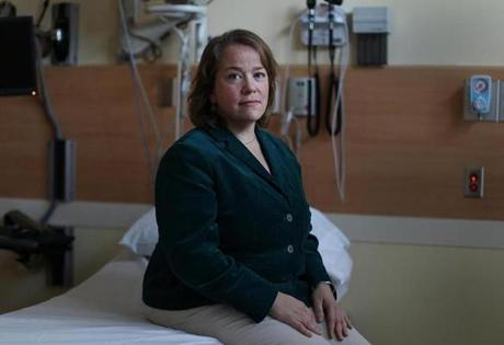 Christina Hernon, an emergency medicine doctor who was called to the Boston Marathon finish line to treat the wounded, has had trouble sleeping and difficulty concentrating.