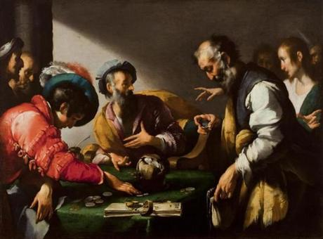 "Bernardo Strozzi's ""The Calling of Saint Matthew"