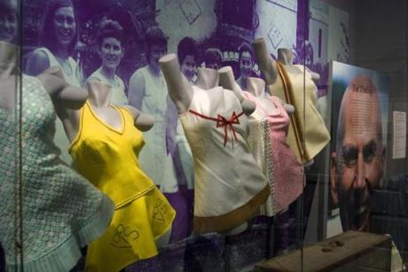 Fashions at the Hall of Fame, designed by Ted Tinling.
