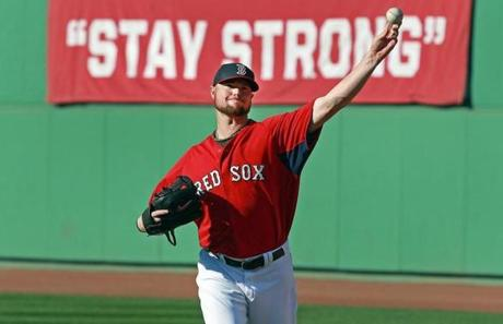 Jon Lester was named the Game One starter.