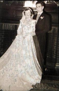 Bob and Jean Hannon married in 1951, and went on a honey-moon to the Baseball Hall of Fame in Cooperstown, N.Y.