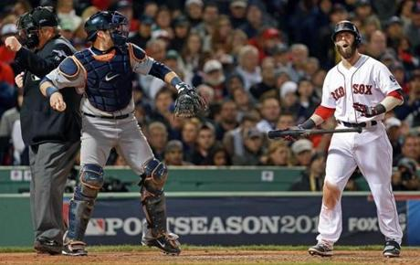 The ALCS began with a whimper when the Red Sox were shut out (and nearly no-hit) by Detroit's Anibal Sanchez. The Sox didn't muster a hit until the 9th inning in the 1-0 loss.
