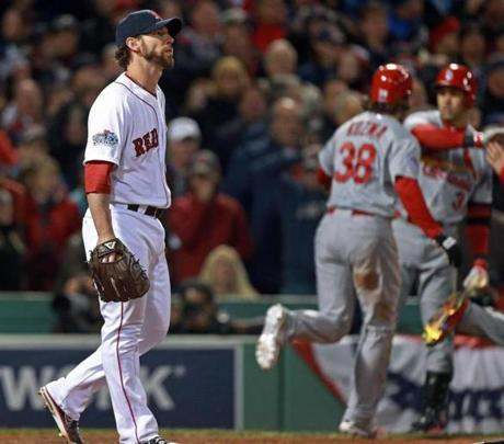 But the Red Sox would lose Game 2, 4-2, after they came undone in a three-run seventh inning.