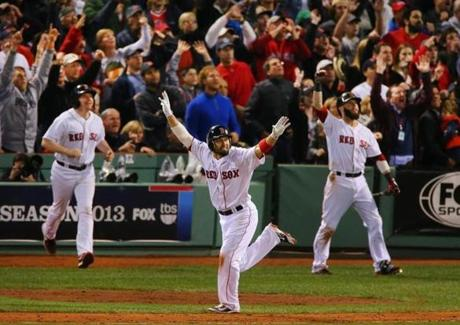 Shane Victorino blasted a grand slam in the seventh inning of Game 6 to give the Red Sox a 5-2, series-clinching win.