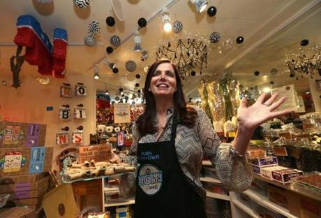"""I'm most passionate about the opportunity to make a community. We really view [the tastings] as a reason for hanging out,"" said Robin Helfand, licorice connoisseur and owner of Robin's Candy Shop."