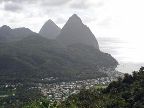The rocky, bumpy road to Gros Piton gets you prepared for the hike ahead.