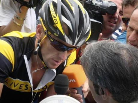 """I think now it's a more profound movie. It's definitely more interesting,"" Gibney on his documentary about Armstrong (pictured), which went from being titled ""The Road Back"" to ""The Armstrong Lie."""