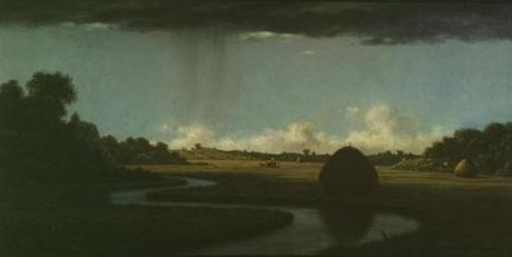"Martin Johnson Heade's ""Newburyport Marshes, a Passing Storm"" is one of 25 items in "" 'This Mighty Scourge of War': Art of the American Civil War."""