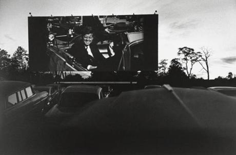 """Monsey, New York,"" 1963, by Lee Friedlander at Yale University Art Gallery."