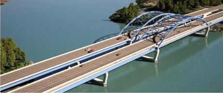 The new design for the Whittier Memorial Bridge.