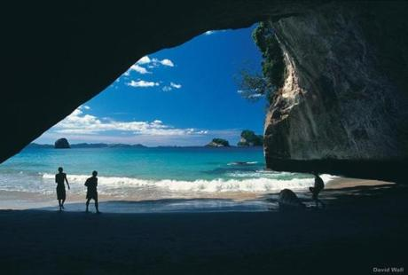 Cathedral Cove, Coromandal peninsula, North Island.