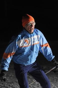 Larry Berman, 77, participates in cross-country skiing competitions through the Cambridge Sports Union. Joining an athletic club can help you have fun and stay fit.