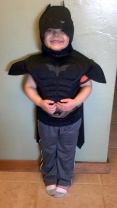 Miles thought he was in San Francisco just to get a Batman costume so he could dress like his favorite superhero, KGO-TV reported.