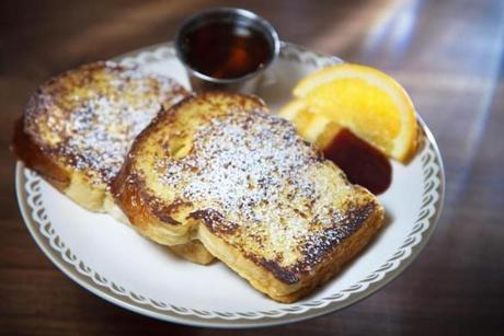 Brioche French toast.
