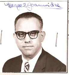 This undated photo from the US State Department obtained by Jefferson Morley, a former Washington Post reporter, shows a passport photo of CIA Agent George Joannides. Fifty years after President John F. Kennedy's assassination, several hundred still-classified pages from government files concern the deceased CIA agent.