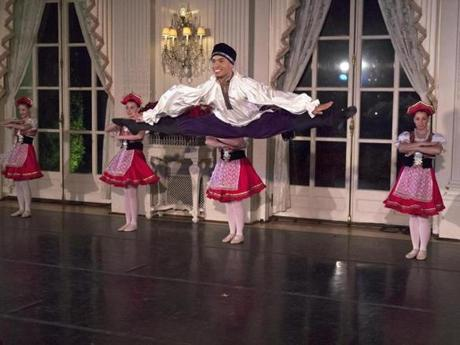 """Newport Nutcracker at Rosecliff."""