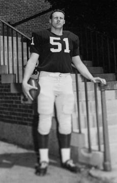 A photograph of O'Brien was taken in Cambridge in 1963 after the Harvard-Yale game.
