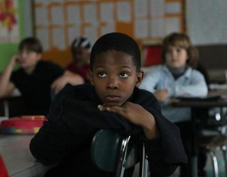 Zion and his fellow students in Heather Anderson's third-grade class watched a video about President Kennedy on Friday.
